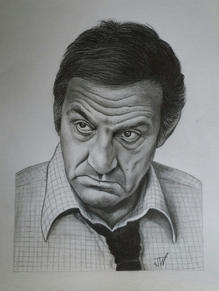 Lino Ventura by jeffcw